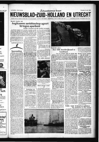 Schoonhovensche Courant 1960-04-13