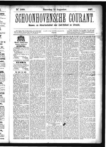 Schoonhovensche Courant 1897-08-14