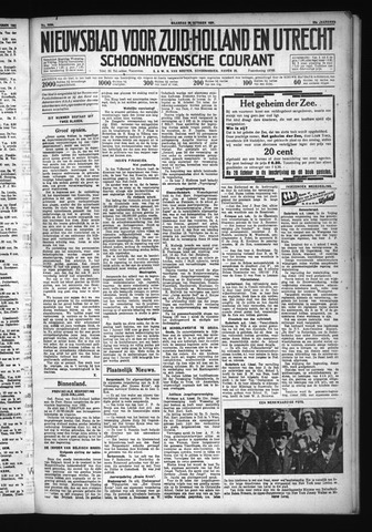 Schoonhovensche Courant 1931-10-26