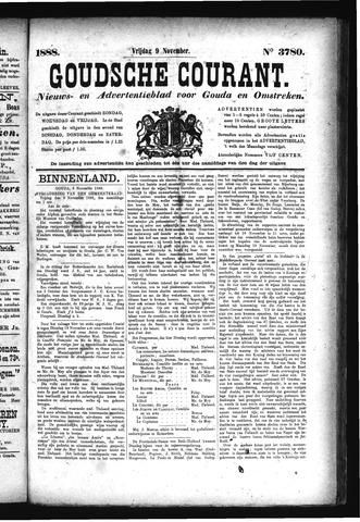Goudsche Courant 1888-11-09