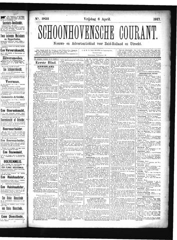 Schoonhovensche Courant 1917-04-06