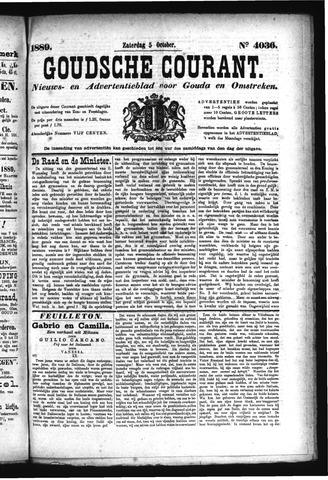 Goudsche Courant 1889-10-05