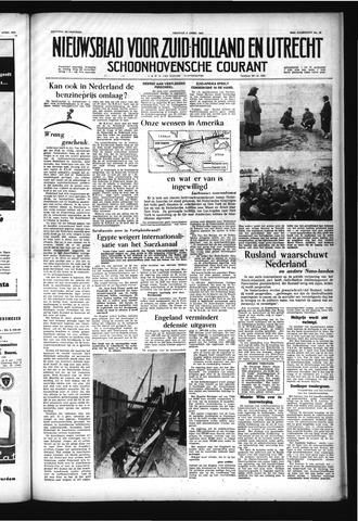 Schoonhovensche Courant 1957-04-05