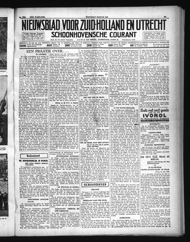 Schoonhovensche Courant 1936-08-05