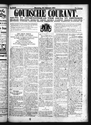 Goudsche Courant 1937-02-22