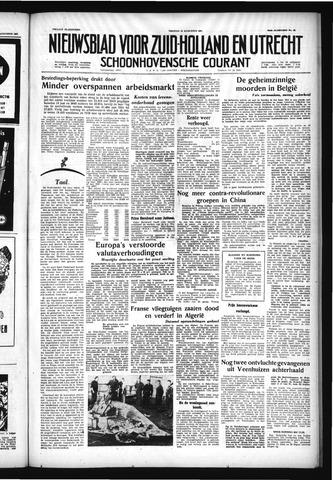 Schoonhovensche Courant 1957-08-16