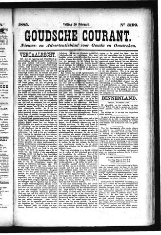 Goudsche Courant 1885-02-20