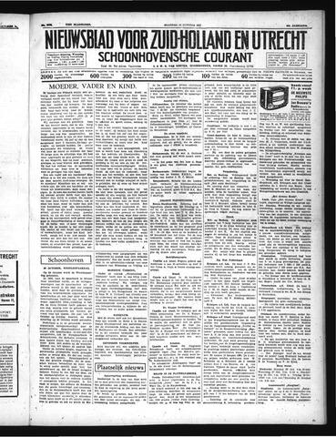 Schoonhovensche Courant 1937-10-25