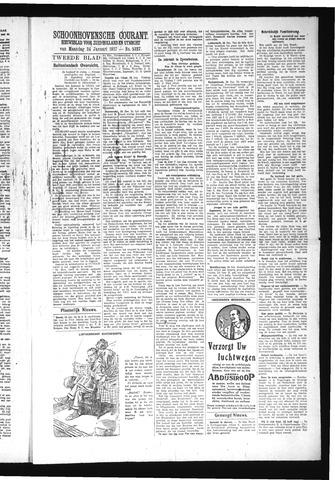 Schoonhovensche Courant 1927-01-24