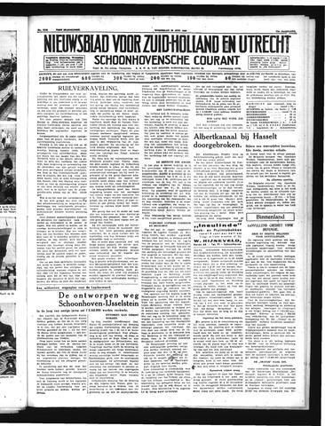 Schoonhovensche Courant 1939-06-28