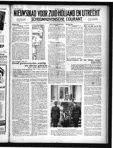 Schoonhovensche Courant 1949-04-25