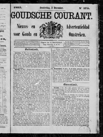 Goudsche Courant 1863-12-03
