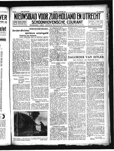 Schoonhovensche Courant 1941-10-10