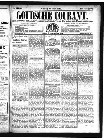 Goudsche Courant 1913-06-27