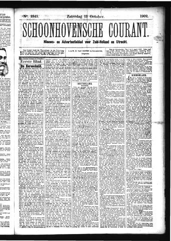 Schoonhovensche Courant 1902-10-11