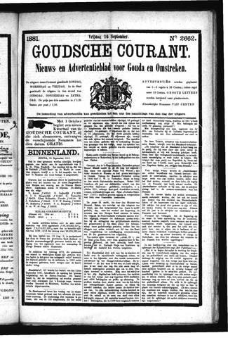 Goudsche Courant 1881-09-16