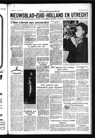 Schoonhovensche Courant 1966-10-28
