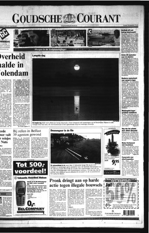 Goudsche Courant 2001-06-21