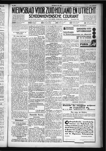 Schoonhovensche Courant 1931-07-10