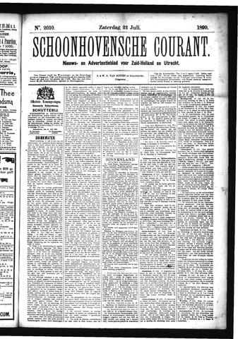 Schoonhovensche Courant 1899-07-22
