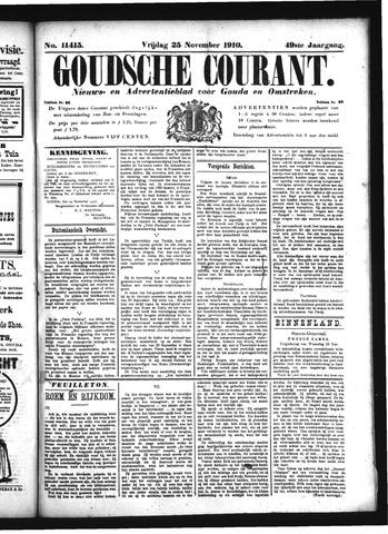 Goudsche Courant 1910-11-25