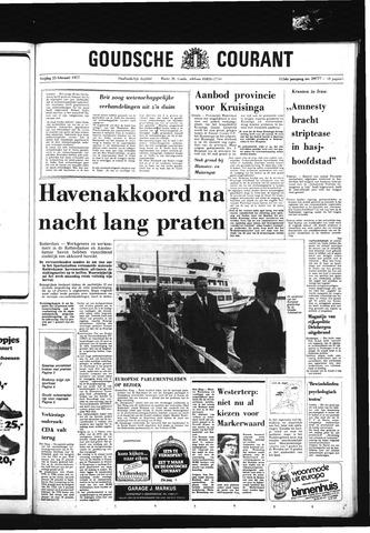 Goudsche Courant 1977-02-25