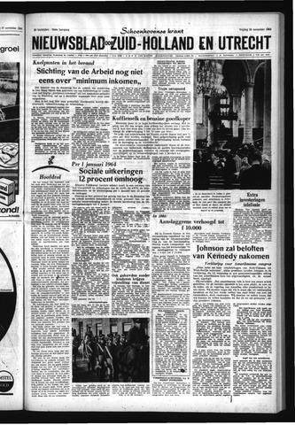Schoonhovensche Courant 1963-11-29