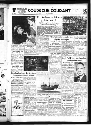 Goudsche Courant 1957-02-14