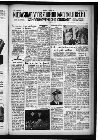 Schoonhovensche Courant 1955-02-16