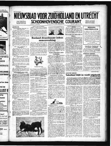 Schoonhovensche Courant 1950-04-24