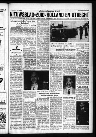 Schoonhovensche Courant 1960-08-31