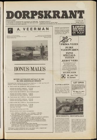 Dorpskrant 1981-12-11