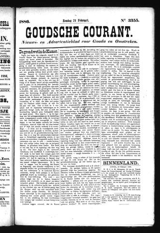 Goudsche Courant 1886-02-21