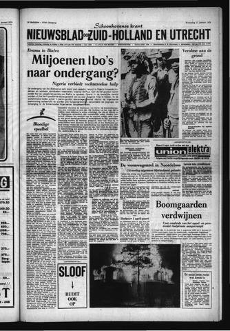 Schoonhovensche Courant 1970-01-14