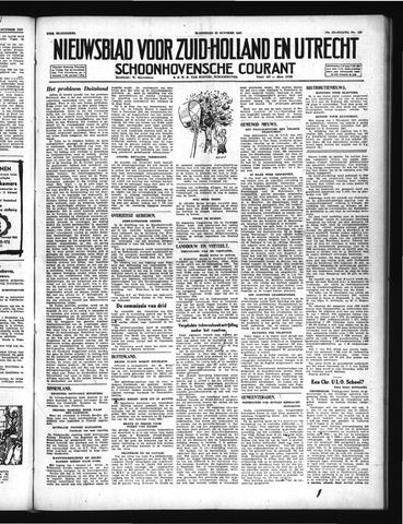 Schoonhovensche Courant 1947-10-22