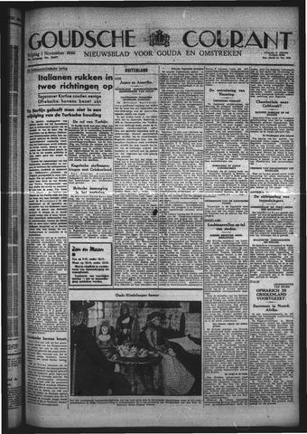 Goudsche Courant 1940-11-01
