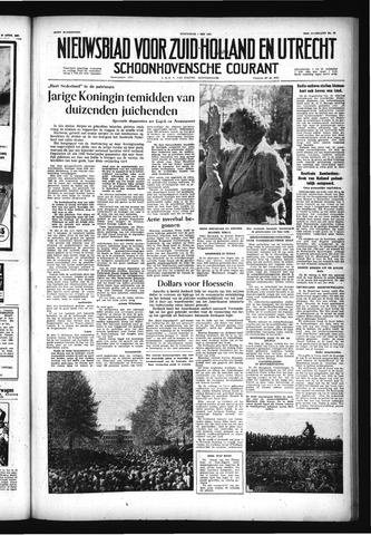 Schoonhovensche Courant 1957-05-01