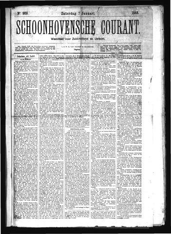 Schoonhovensche Courant 1888