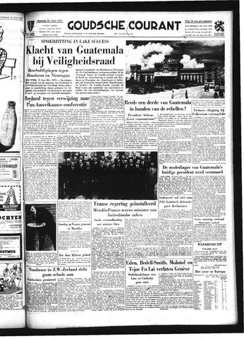 Goudsche Courant 1954-06-21