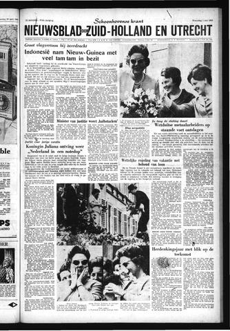 Schoonhovensche Courant 1963-05-01