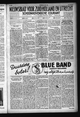 Schoonhovensche Courant 1932-06-29