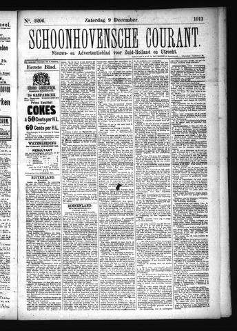 Schoonhovensche Courant 1911-12-09