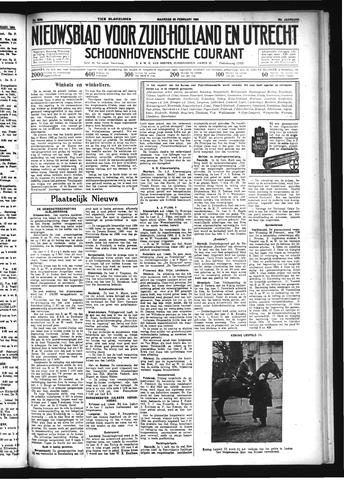 Schoonhovensche Courant 1934-02-26