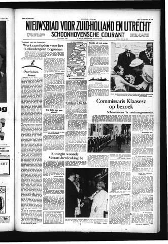 Schoonhovensche Courant 1956-07-11