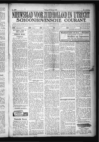 Schoonhovensche Courant 1929-02-22