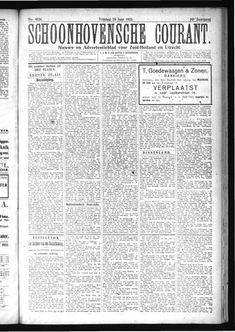 Schoonhovensche Courant 1922-06-23