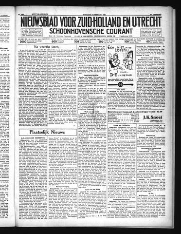 Schoonhovensche Courant 1935-02-13