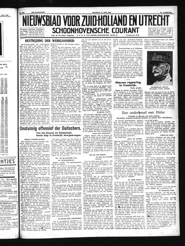 Schoonhovensche Courant 1940-06-17