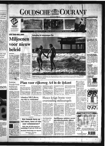 Goudsche Courant 2001-06-26