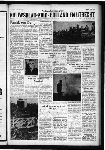 Schoonhovensche Courant 1961-07-17